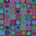 Kaffe Fassett Collective for Free Spirit PWGP 171 BLUEX Pattern Tiddlywinks