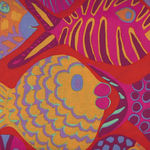 Kaffe Fassett Collective for Free Spirit Spring 2015 Pattern Shoal PWBM051. Toma