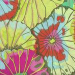 Kaffe Fassett Collective for Free Spirit Spring 2018 Lotus Leaf  PWGP029 LimeX