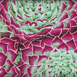 Kaffe Fassett Collective for Free Spirit Spring 2018 PWP J091 Succulent PinkX