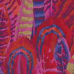 Kaffe Fassett Collective for Free Spirit  PWPJ 055 Feathers  Red
