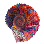 Kaffe Fassett Design Roll-Hot for Free Spirit Fabric FB4DRGP. A2020HOT.