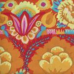 Kaffe Fassett for Free Spirit Artisan PWKF001 Embroidered Flower Border Yellow