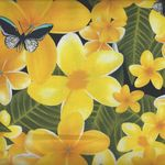 Kennard & Kennard Digital FRANGIPANIS Design 6106 Yellow
