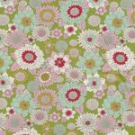 LEMONTREE BY TILDA Boogie Flower Green 100012