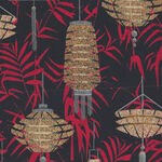 Narumi Lanterns Japanese By Blank Quilting BQ9932 099 Black.