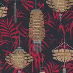Narumi Lanterns Japanese By Blank Quilting BQ9932 099 Black.