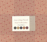 Layer Cake  Moda Cozy Cottage Flannels by Kansas Troubles Quilters 9500LCF