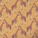 Le Quilt Stof France Giraffes 001