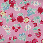 Lecien Orchard Kitchen Collection 31737 Color 20 Apples and Cherries