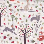 "Lewis And Irene Fabric ""Fox and Friend"""