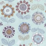Lewis and Irene Honey Meadow Fabric