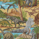 Lost World Dinosaurs by Nutex Fabric 80300 Colour 101.