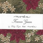 "MODA Charm Pack Forever Green 5"" Squares x 42 cuts 52106 33705"