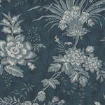 MODA Snowberry Cotton Fabric M44140-16 Colour Denim Blue