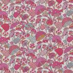 "Magic Liberty Of London Tana Lawn Width 53"" 036302130C Color Pink/White Mushroom"