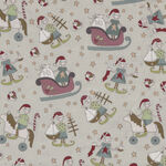 Make Ready For Christmas by Natalie Bird for Devonstone Fabrics DV3293