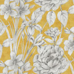 Marguerite By Whistler Studios For Windham Fabrics 51798-2 Yellow/Grey.