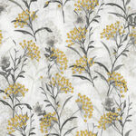 Marguerite By Whistler Studios For Windham Fabrics 51799-3 White/Grey/Yellow.