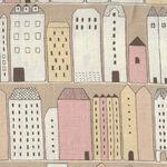 Mattina di Vacanza From Kei Fabrics 100% Linen Japanese MAT70022 Color B.