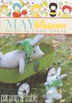 May Blossom Felt Toy Mummy and Baby Rabbit