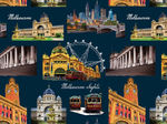 Melbourne Sights by Kennard & Kennard 8086 Colour N