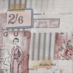 Memoranda 3 from Eclectic Elements by Tim Holtz PWTH109 Colour Multi, Pattern Vo