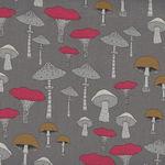 Michael Miller Fabric Champignons-Sweet Mushrooms DC8319-Truffle-D