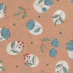 Mina Made In Japan Cotton Fabric 148-1225 Colour E Apricot