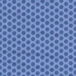 Minky 2-Tone Dots White From Fabrics Inc. Colour Royal/Blue