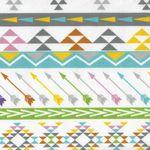 Minky Peruvian Stripe Wide From E.Z. Fabrics Inc Colour Multi