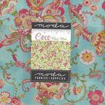 """Moda Coco by Chez Moi Layer Cake 42- 10"""" x 10"""" Squares 3390LC Precuts"""