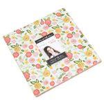 """Moda Fabric Precuts Lollipop Garden by Lella Boutique Layer Cake 5080LC 10""""squar"""