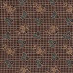 Moda Fabrics Yesterday By Jo Morton M38100-17 Brown Civil War.