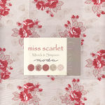 Moda Miss Scarlet Layer Cake by Minick & Simpson 14810LC