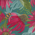 Moda Painted Meadow by Robin Pickens M48660 Colour 12 Teal