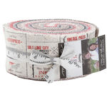 "Moda The Print Shop Jelly Roll Precut 2.5"" Strips 2.5""x 44""x 42 Pieces 5740JR"
