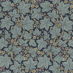 Morris & Co. Granada Cotton Fabric for Free Spirit PWWM056. Indigo. Bramble.