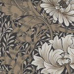 Morris And Co. Merton Pattern Chrysanthemum Color Taupe PWWM009