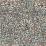 Morris And Co. Merton Pattern Snakehead Color Aqua PWWM010.Aquax