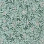 Morris & Co. Granada Cotton Fabric for Free Spirit PWWM059. Aquax. Jasmine.