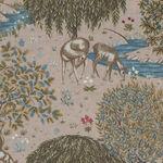 Morris & Co. Granada Cotton Fabric for Free Spirit PWWM060.Blush.The Brook.