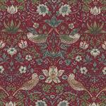 Morris & Co Kelmscott  from Free Spirit PWWM 002. Color Red. Mini Strawberry Thi
