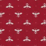 My Redwork Garden by Bunny Hill Designs for Moda Fabrics M2951 11 Red.