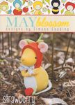 NEW- May Blossom Felt Toy Strawberry Mouse