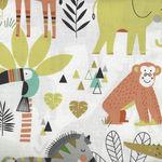 Northcott Safari Swank  Jungle Animals 22399 Color 10