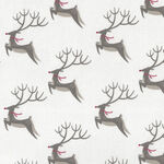Northern Light By Annie Brady For Moda Fabrics M16731-11 Reindeer.