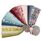 "Nova Jelly Roll Precut Strips by Basic Grey for Moda Fabrics 30580JR 2.5"" x 44"""