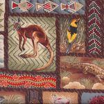 "Nutex fabrics ""Awesome Australia"""