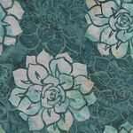 Oasis Batiks By McKenna Ryan for Hoffman HMR 12 021 Teal